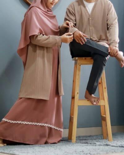 Couple Cardigan : Khansa ~ Kareem